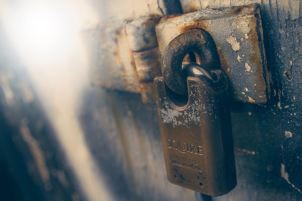 James sutton padlock unsplash